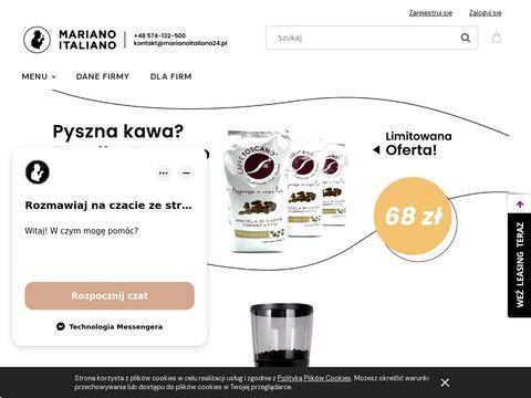 Marianoitaliano24.pl sprzedaż ekspresów do kawy