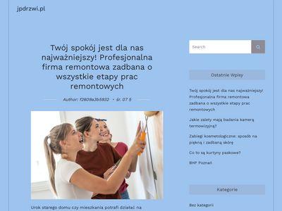 Jpdrzwi.pl - montaż drzwi Białystok
