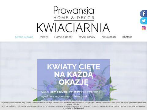 Kwiaciarnia Prowansja, bukiety Szczecin