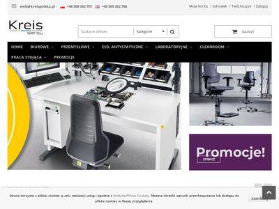 Kreispolska.pl - krzesła laboratoryjne