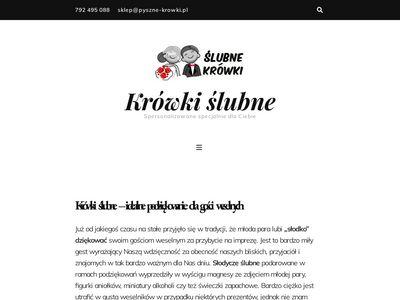 Cukierki ślubne - krowkislubne.pl