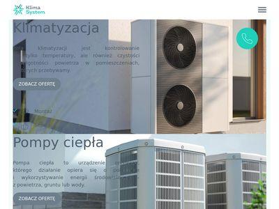 Klimatyzatory Klima System Szczecin