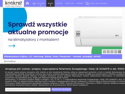 Konkret klimatyzacja Kraków - dobór montaż