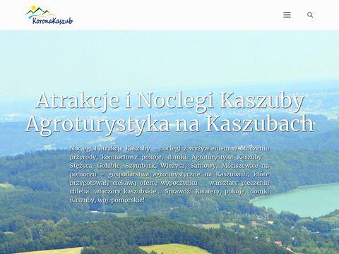 Koronakaszub.eu agroturystyka Stężyca