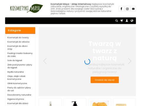 Kosmetyki organiczne i naturalne