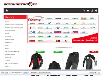 Kombinezon.pl - kaski motocyklowe