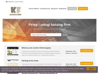 Katalog-firmy.biz - rejestr firm