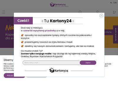 Kartony24.eu opakowania kartonowe producent