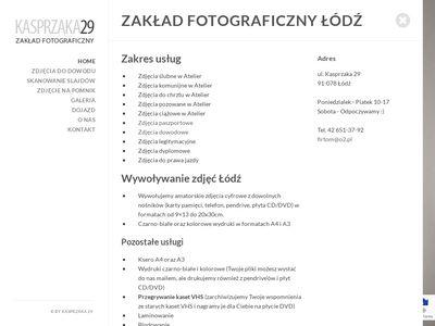 Wywoływanie zdjęć Łódź - kasprzaka29.pl