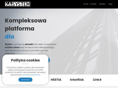 Ka-system.pl program do sprzedaży ubezpieczeń