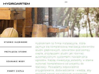 Hydroartem.pl usługi minikoparką Bielsko