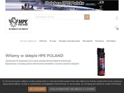 HPE - akcesoria obronne