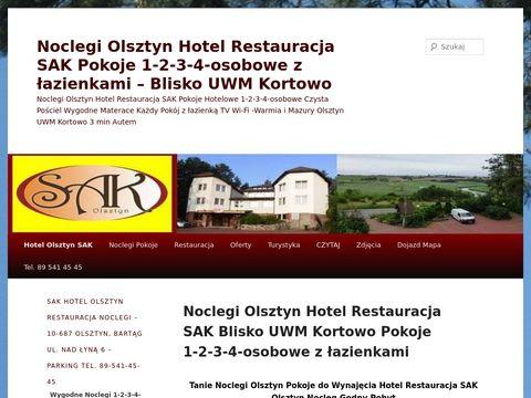 Hotelolsztyn.pl Sak noclegi restauracja