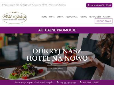Hotel u Grubego - hotelwradomiu.pl