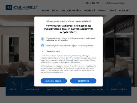 Homemarbella.pl Malaga nieruchomości Hiszpania