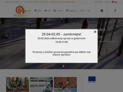 Wypożyczlnia przyczepek rowerowych