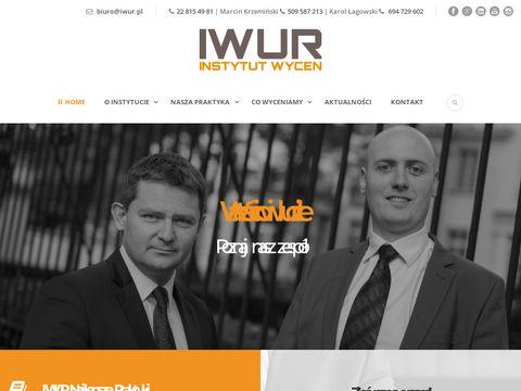 Iwur.pl wycena spółki