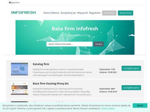 Infofresh katalog firm