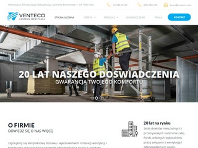 Venteco.com - rekuperacja