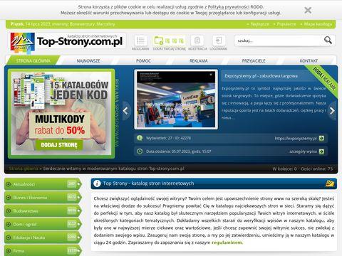 Top Strony reklama w Internecie