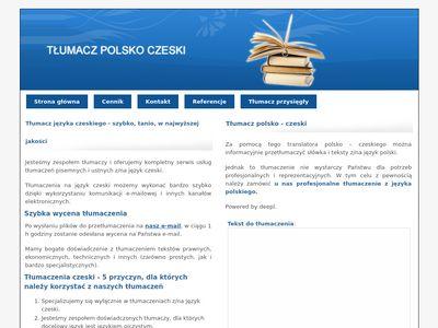Tłumacz polsko-czeski