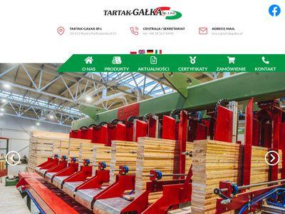 Tartakgalka.pl - producent deski paletowej