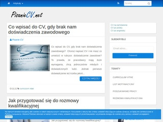 Blog - pisaniecv.net