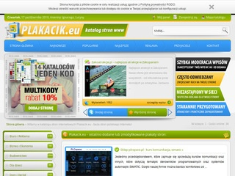 Plakacik.eu - katalog stron