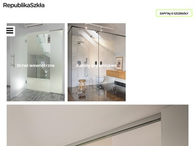 Republika Szkła - producent drzwi szklanych