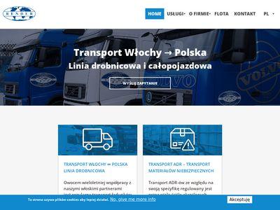 Spedycja Polska-Włochy