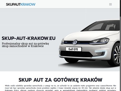 Skup aut Kraków