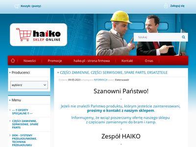Crawford, Hafa, Faltec, AssaAbloy - spare parts