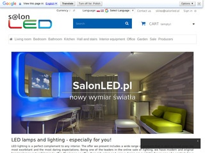 Oświetlenie LED - sklep internetowy