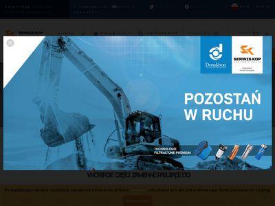 Naprawa maszyn budowlanych dzięki Serwis-Kop