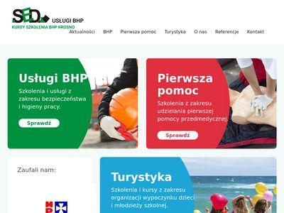 SED usługi BHP - Dariusz Szuba
