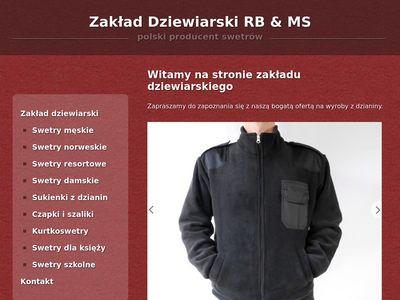 Damskie swetry