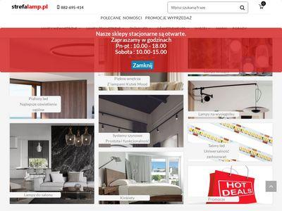 Strefalamp.pl - sklep z oświetleniem