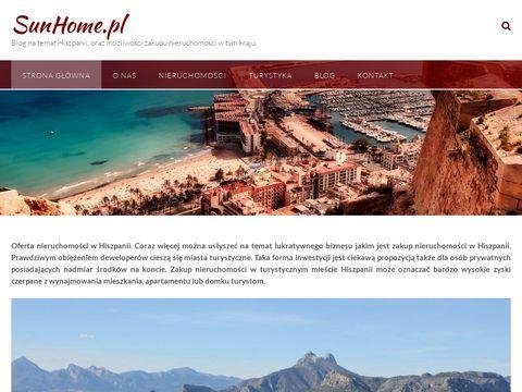 SunHome nieruchomości Hiszpania