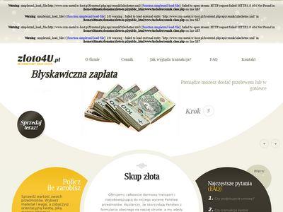 Zloto4u.pl - internetowy skup złota