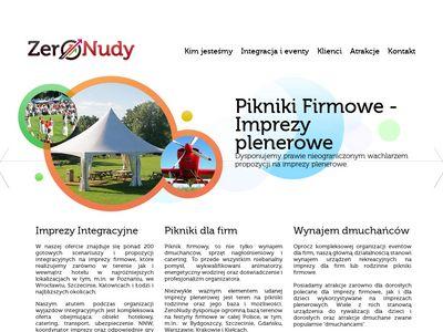 Imprezy firmowe Poznań - ZeroNudy.com