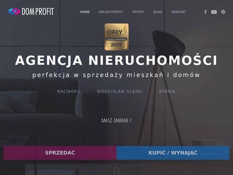 DomProfit.pl - skuteczna sprzedaż mieszkań i domów