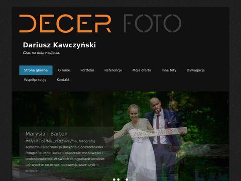 Decer Foto Dariusz Kawczyński - fotografia ślubna