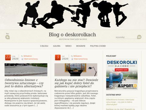 Blog o deskorolkach