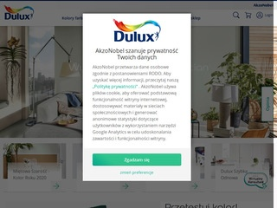 Dulux.pl - duży wybór najlepszych farb