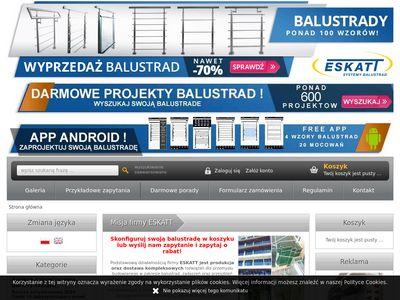 Eskatt.pl - balustrady szklane