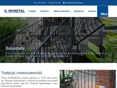 Eurometal - bramy Poznań