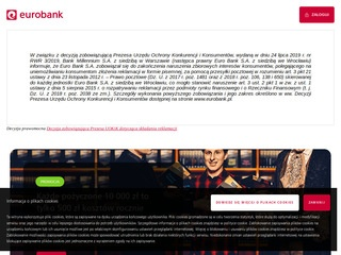 Eurobank - tanie kredyty gotówkowe i hipoteczne