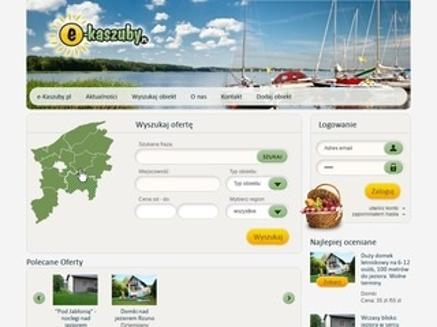 Atrakcje turystyczne e-Kaszuby
