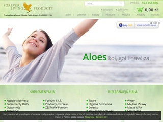 Forever-living.pl - aloes