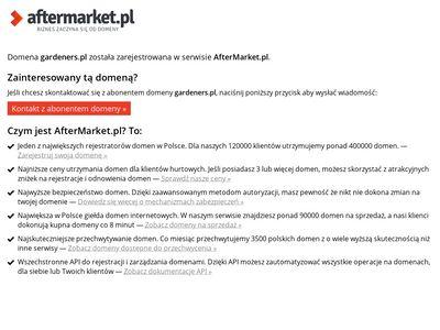 Gardeners.pl trawa z rolki Poznań